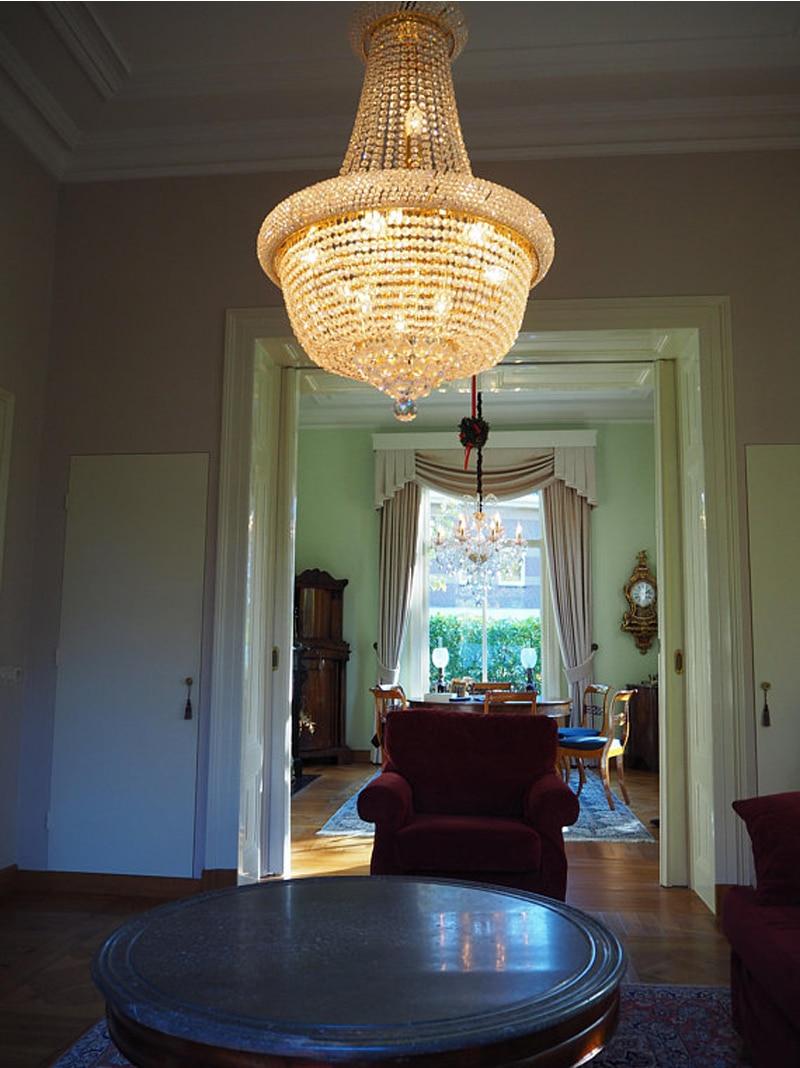 Phube Beleuchtung Französisch Reich Gold Kristall Kronleuchter Chrom ...