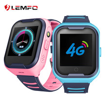 LEMFO G4H 4G Kids Smart Watch GPS Wifi Ip67 Waterproof 680Mah Big Battery 1.4 Inch Display Camera Take Video Smartwatch Kids(China)