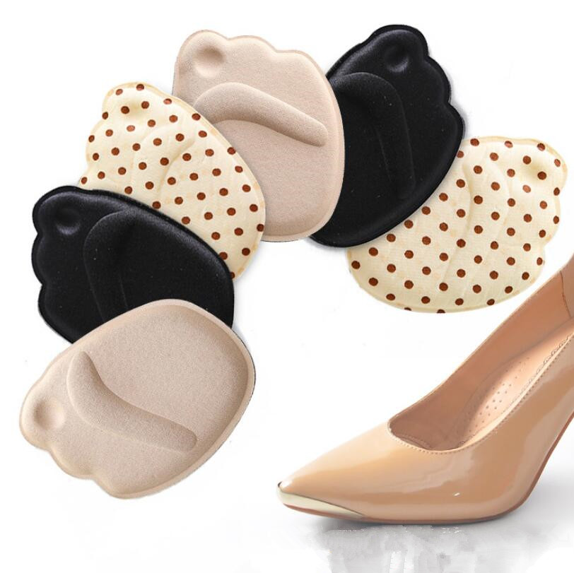 High Heels Sponge Anti Pain Shoe Insoles Cushions Foot Heel Protector Feet Care Pad Front Feet Massage Cushion image