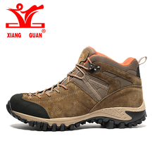 2017 Xiangguan Походные Ботинки Высокие Для Мужчин Дышащий Альпинизм Уличной Обуви Высокого Качества Военные Ботинки Кроссовки 39-45