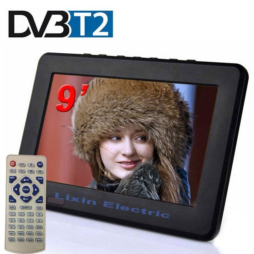 Digital HD TV 9 Inch DVB-T2 TVs