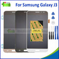 1 pcs de alta cópia para samsung galaxy j3 j320 display lcd com tela de toque digitador assembléia cor preta + ferramenta