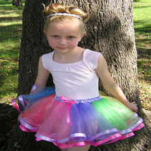 2015 summer style baby girl tutu skirt princess party ribbon short skirt 8T girl mini dance pettiskirt  цена и фото