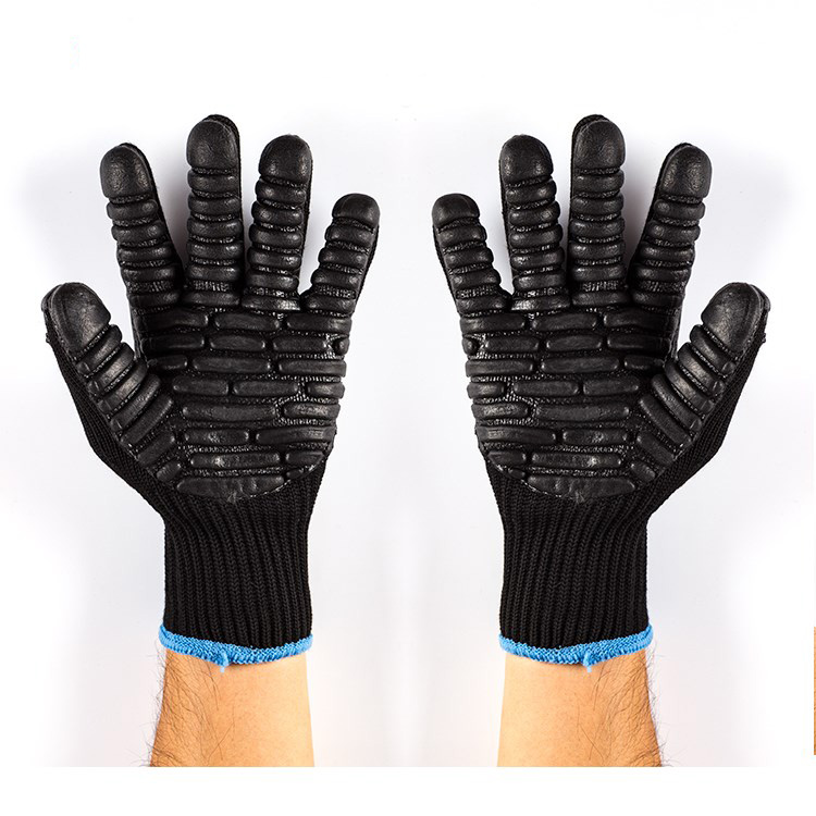 Workplace Safety Supplies Security & Protection Symbol Of The Brand Shock Absorbing Gloves Impact Resistant Safety Glove Impact Drill Anti Vibration Work Glove