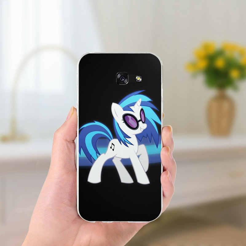 Мультфильма «Мой Маленький Пони» юбкой всех цветов радуги облака чехол для телефона из мягкого ТПУ с рисунком Чехлы для samsung Galaxy Note 2 3 4 5 8 S2 S3 S4 S5 мини S6 S7 S8 S9 Edge Plus