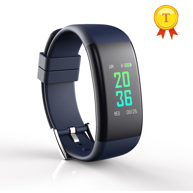 big touch screen smart bracelet with Blood Oxygen Fatigue Blood Pressure Heart Rate monitors Health monitor