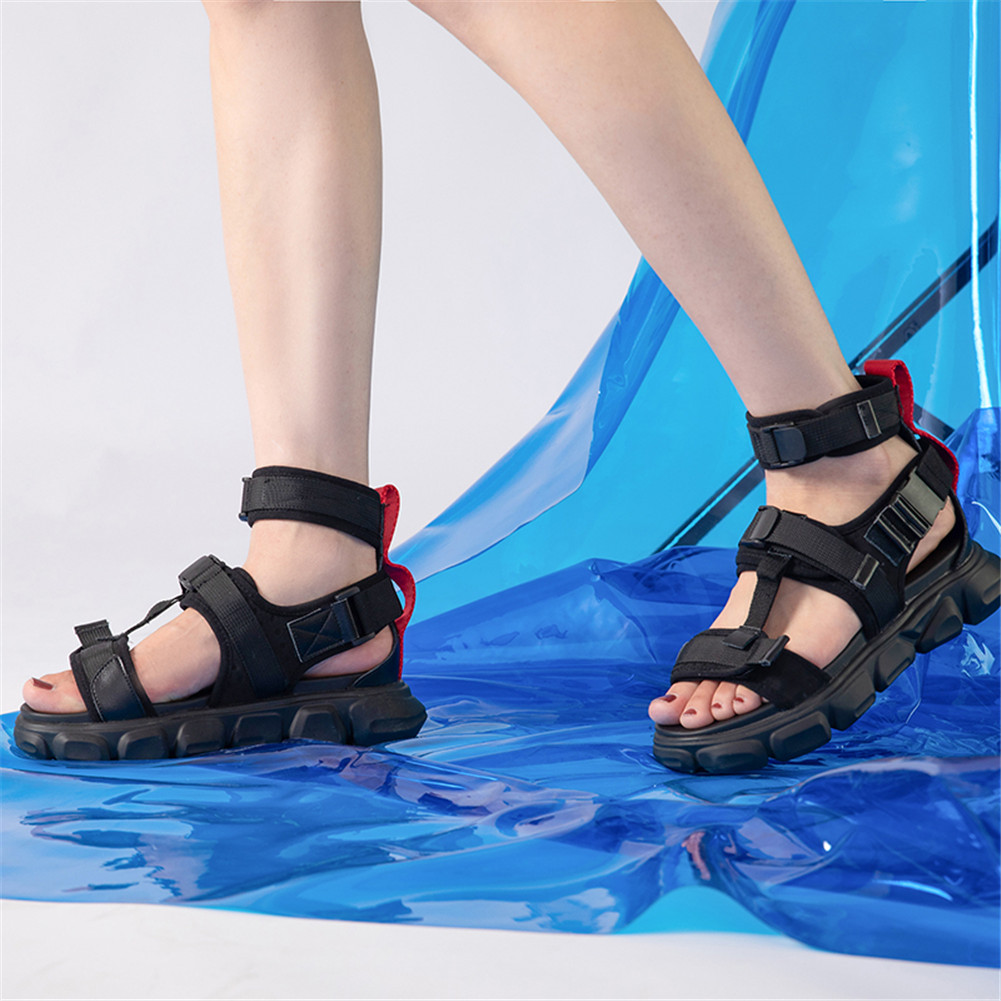 Brand design large Size 35 42 leisure summer sandals 2019 women's shoes woman casual soft sandals sneakers
