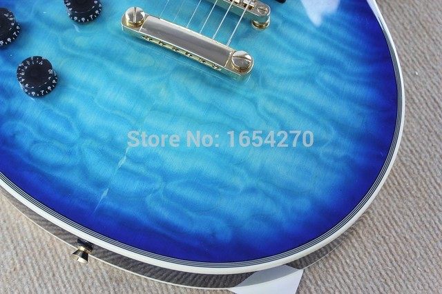 Free shipping factory Promotions Musical Instruments best New Left-handed Style Custom Electric Guitar 150621 2