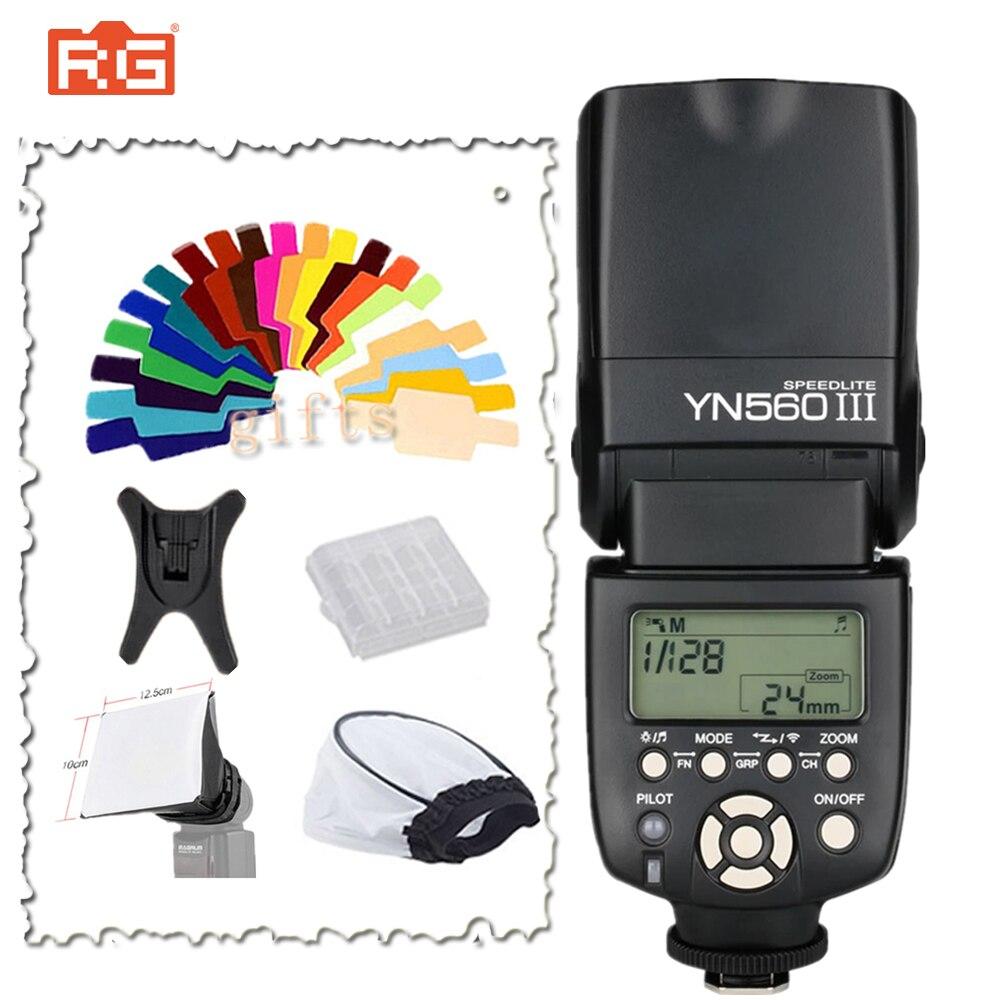 Yongnuo YN 560III Professional Flash Speedlight Flashlight YN560 III Yongnuo YN 560 III for Canon Nikon