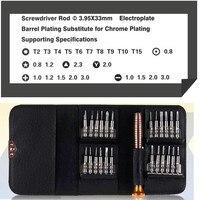 1 스크루 드라이버 세트에 25 아이폰 5 5S 6 핸드폰 태블릿 PC 안경 시계 휴대용 지갑 포장에 대 한 복구 손 도구 키트 tool kit 25 in 125 in 1 screwdriver -