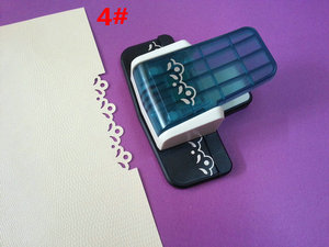 Image 3 - free ship 1PC new fancy border punch  craft punch scrapbooking handmade popular embossing punch for DIY foam paper punch