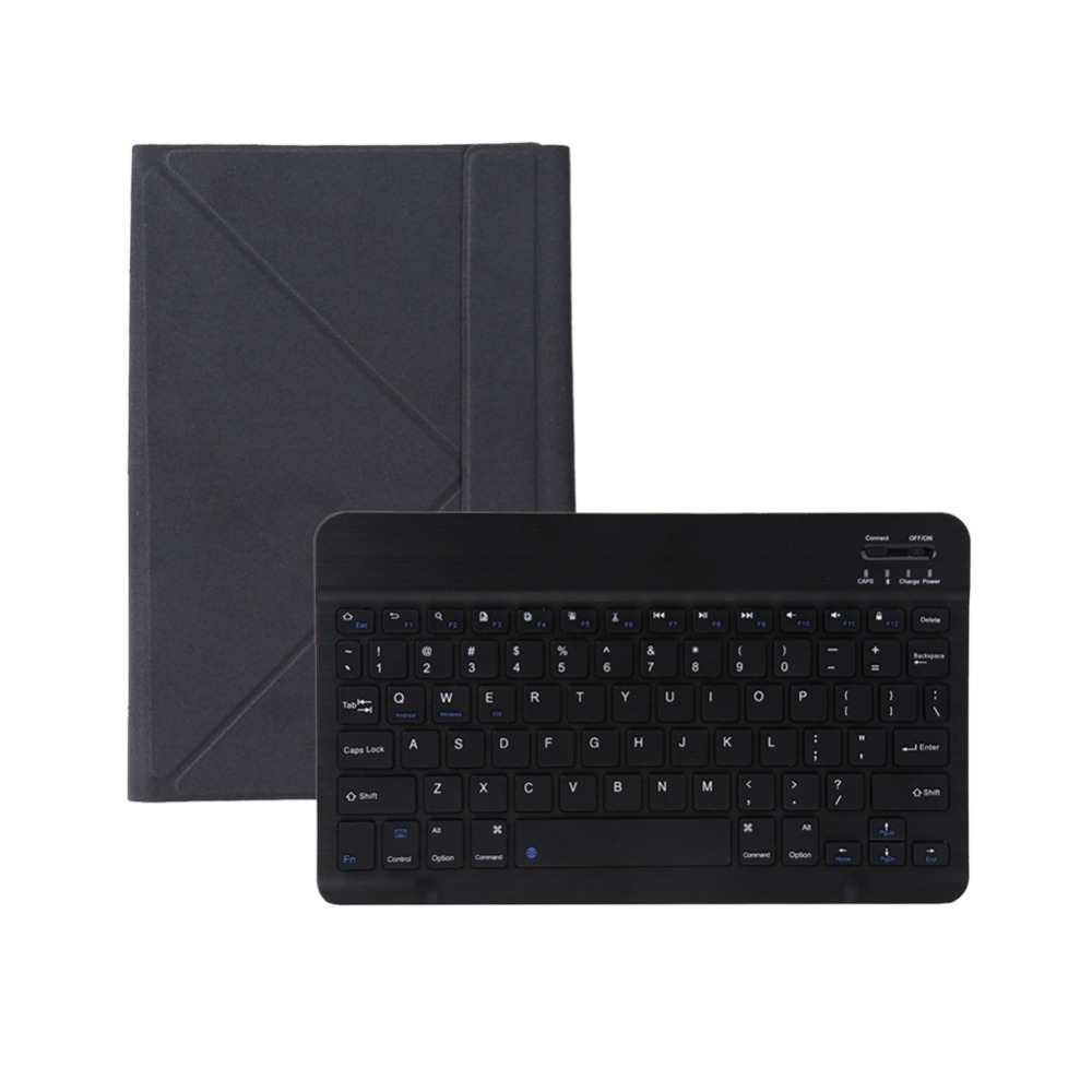 Universal Bluetooth 3.0 Keyboard with PU Leather Flip Case Detachable Teclado Sem Fio for 9-10 Tablet PC Wireless Klavye Cover