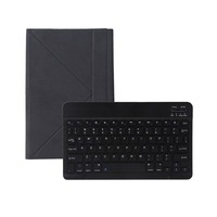 Bluetooth 3 0 Keyboard With PU Leather Flip Case Detachable Teclado Sem Fio For 9 10