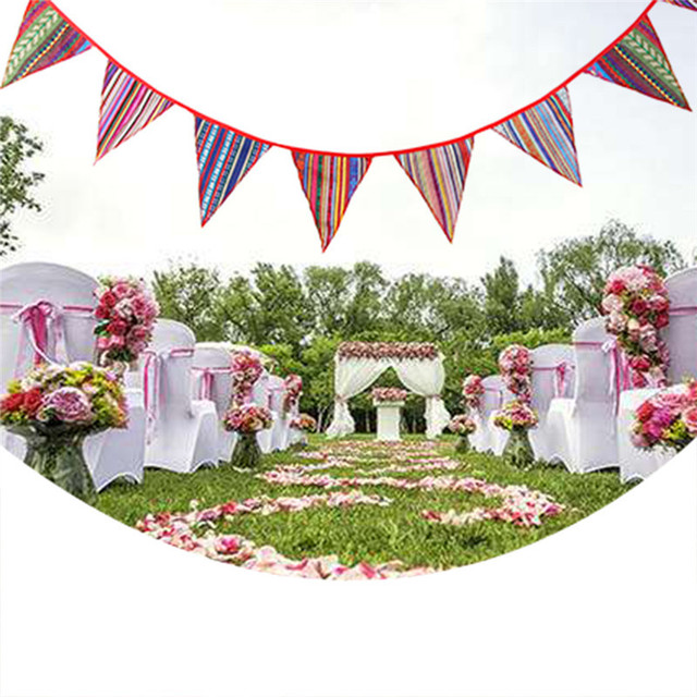 33m flag banner wedding borthday party decoration tent flag gypsy 33m flag banner wedding borthday party decoration tent flag gypsy ethnic style flags banners anniversary junglespirit Image collections