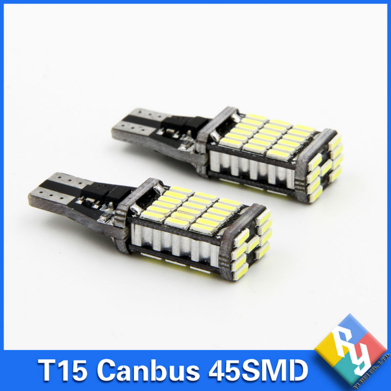 10pcs canbus led w16w led canbus t15 45led 4014smd chip. Black Bedroom Furniture Sets. Home Design Ideas