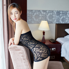 Lace Bodystocking Skirt Babydoll Lingerie Slutty Whore Dress Low Cut Cleavage Breathtaking Sexual Arousal Fantasy FetishUniform