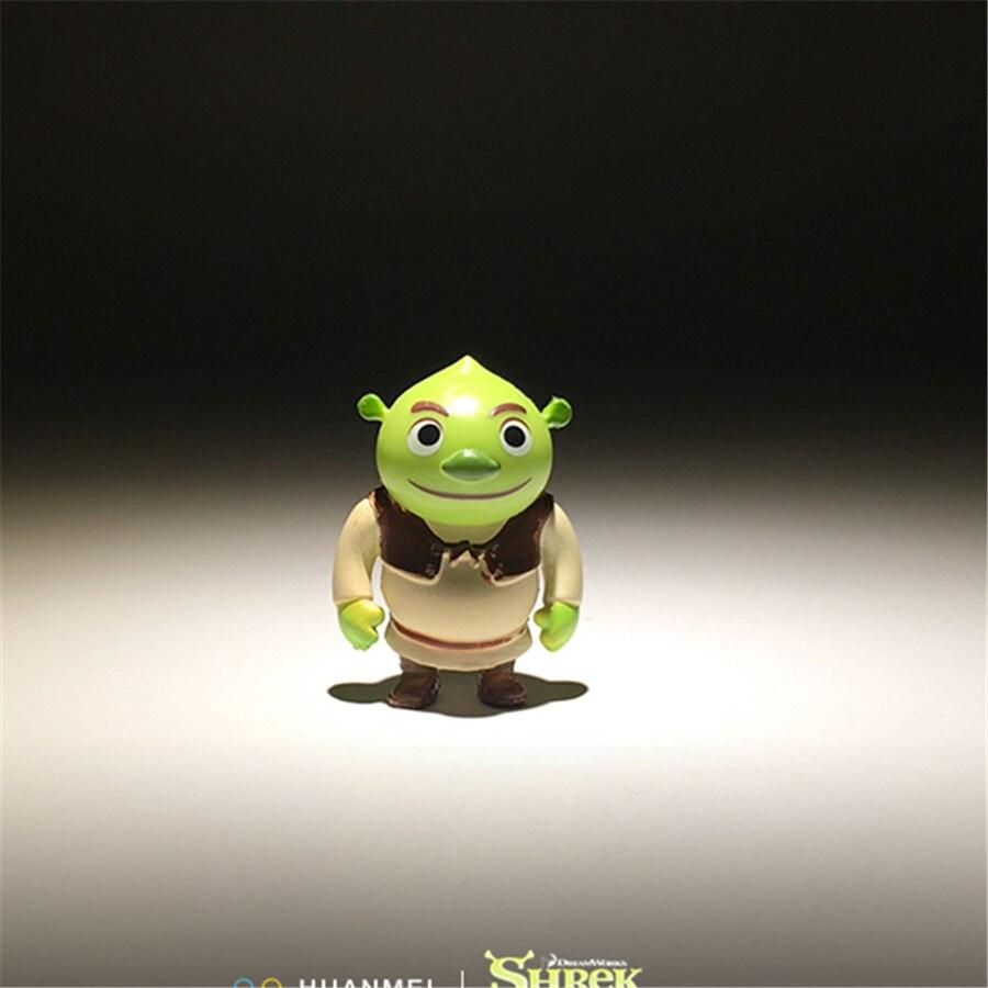 60 ชิ้น 3.5 ซม. Monster Shrek และ donkey การ์ตูนรุ่น PVC Decoraive รูปของเล่นคอลเลกชันของเล่น-ใน ฟิกเกอร์แอคชันและของเล่น จาก ของเล่นและงานอดิเรก บน   2