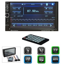 7inch Car Radio Bluetooth V2.0 Car Stereo HD Touch Screen MP5 Player SD MMC USB FM MP3/MP4 Hands-free Call Remote Control
