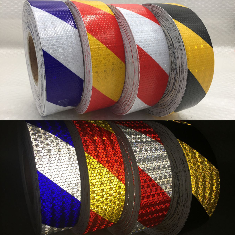 20Roll Wholesale Express Safety Warning Conspicuity Reflective Tape for Car-Styling Reflective Vehicle Sticker  цена и фото