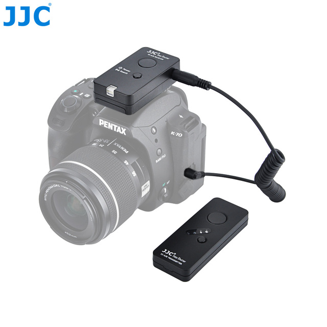 JJC 2.4Ghz Camera Wireless Remote Controller 100M DSLR Control for Canon EOS 1Ds Mark III/EOS 6D  Mark II/EOS 5D Mark IV