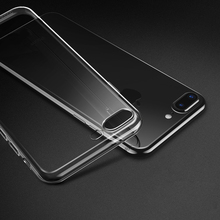 For iphone 7 Case Silicone Cover For iphone 7 Plus Transparent Color Slim Phone Protection Soft Shell For iphone 6 Plus 5 4