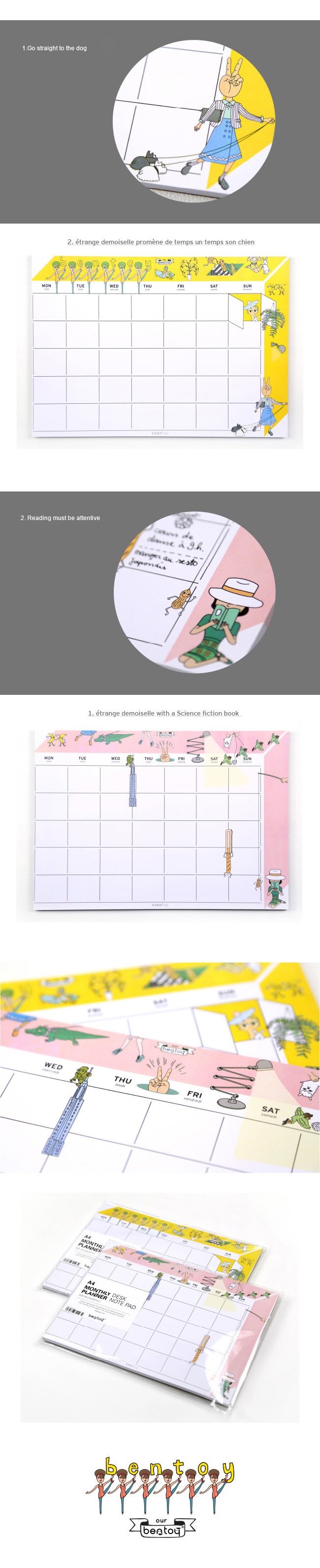 Memo Pads 1pc With 52sheets Large A4 Size Weekly Planner Office Desk Note Pad Working Memo Pad Notebooks 21x29cm With A Long Standing Reputation Notebooks & Writing Pads