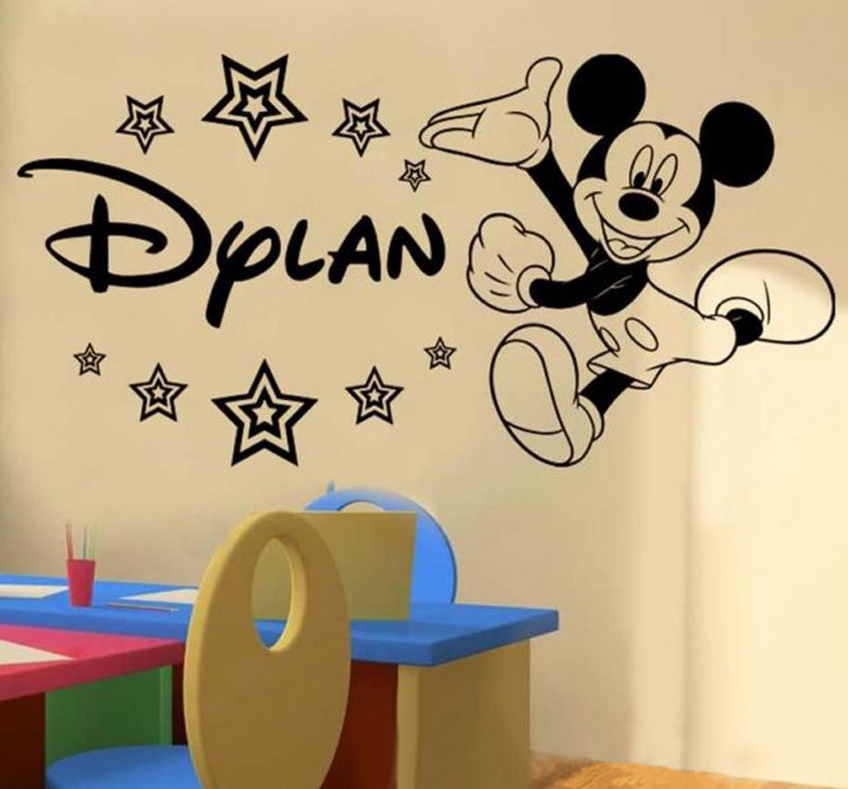 Personalized Font B Mickey B