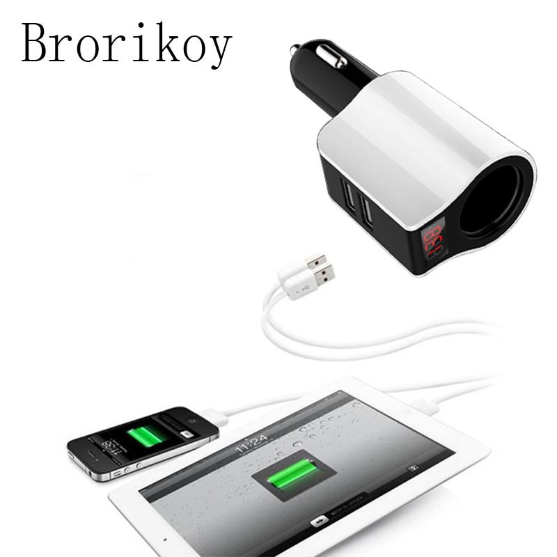LED էկրանային մեքենայի լիցքավորիչը iPhone - Բջջային հեռախոսի պարագաներ և պահեստամասեր - Լուսանկար 6
