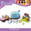 Sunshine Ranch/New Building Blocks Compatible with Friends Series With Action Toys Figure  Learning Education Toys