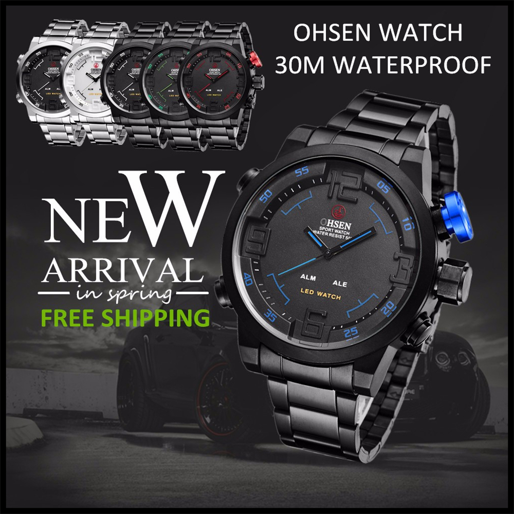 New Watch Men's Military Watches Sports Quartz Wristwatches (9)