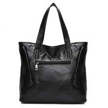 Retro Fashion Ladies Leather Large Capacity Handbags