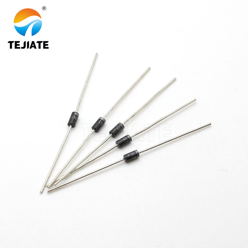 100PCS 1N4007 <font><b>4007</b></font> 1A 1000V DO-41 High quality Rectifier Diode IN4007 image