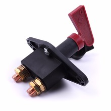 Battery Disconnect Kill Cut Off Switch Solid Brass 100AMPS Car & Truck Termina