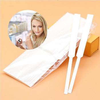 500 pièces 130x12mm bandes de papier d'essai de parfum bande d'essai de papier d'aromathérapie de parfum bandes de papier d'essai d'huiles essentielles de parfum