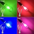 YCDC Azul Rojo Rosa Verde Color de E27 Bombilla Led de la CA 220 V/110 V 85-265 V COB Filamento Edison Retro Globo de Iluminación de La Lámpara de 360 Grados 2017