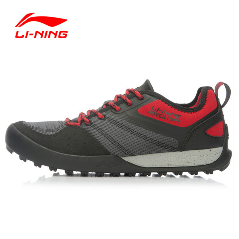 Li-Ning Original Shoes Men's Outdoor Hiking Shoes Explore Multi-Fundtion Walking Sneakers Wear-Resistance Sports Shoes AEHK005 merrto men s outdoor cowhide hiking shoe multi fundtion waterproof anti skid walking sneakers wear resistance sport camping shoe