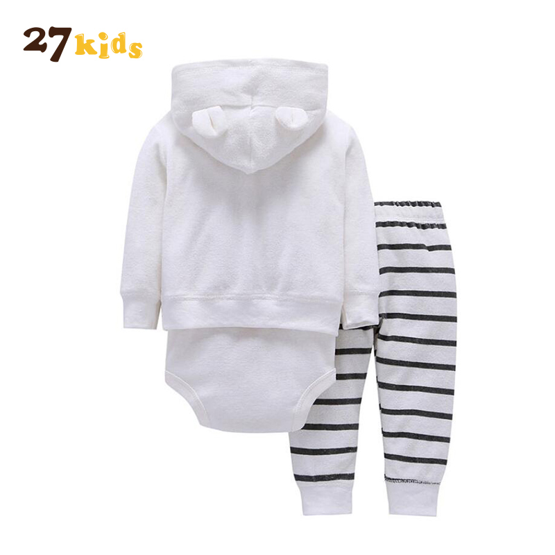 66d58c0afb5c 27Kids 3pcs baby boy clothes set roupa infantil menino coat+bodysuit ...