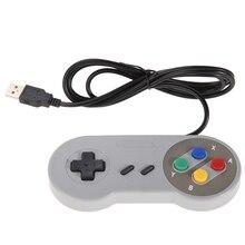 2 unids Super Game Controller SNES USB Gamepad Clásico Juego de Controladores para PC MAC Juegos