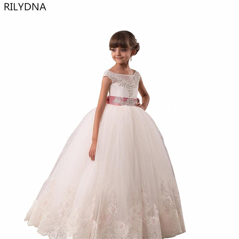 Kids Solid Dresses for Girls 2017 New Style Brand Baby Girls Summer Hollow Out Dress Children Princess Evening Dress everlast свитер