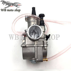 Image 3 - JINGBIN PWK28 pwk 28 30 32 34 mm Carburetor Motorcycle ATV Buggy Quad Go Kart Dirt Bike jet boat fit 2T 4T JOG DIO