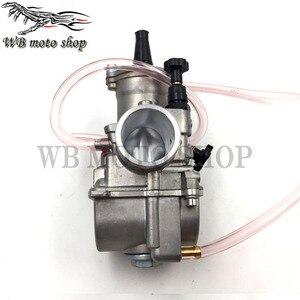 Image 3 - JINGBIN PWK28 pwk 28 30 32 34mm คาร์บูเรเตอร์รถจักรยานยนต์ ATV Quad Go Kart Dirt Bike jet boat fit 2 T 4 T JOG DIO
