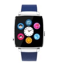 "Fabrik-versorgungsmaterial Top 1,54 ""zoll Smartwatch Mit Monitor Fitness Tragbare Geräte Echtem Leder TPU Uhr Montre mit 30 Watt kamera"