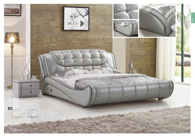 modern living room furniture genuine leather sofa bed in beds from rh aliexpress com genuine leather sofa beds genuine leather corner sofa bed with storage