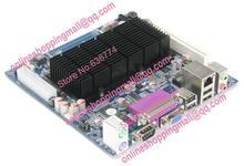 All solid atom d525 mini-itx industrial motherboard ddr3 6 serial lvds