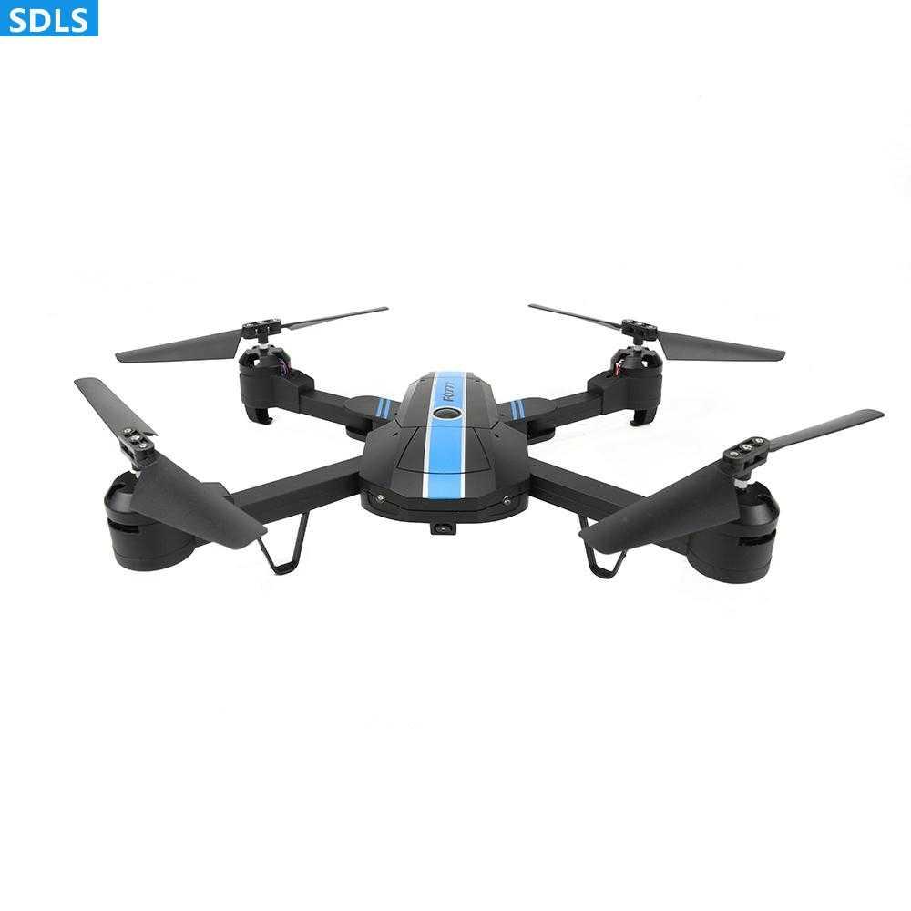FQ24 2.0MP WIFI FPV HD Máy Ảnh 2.4G 4CH Có Thể Gập Lại RC Bay Không Người Lái RC Máy Bay Trực Thăng Quadcopter Độ Cao Giữ Một Chìa Khóa Trở Lại 3D Cán UAV