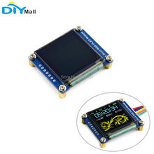 1.5inch 1.5 RGB OLED Screen Display Module 128X128 SSD1351 SPI I2C IIC for Arduino Raspberry Pi STM32 1 5 inch 128x128 spi oled lcd display full color oled module driver ic ssd135 for arduino