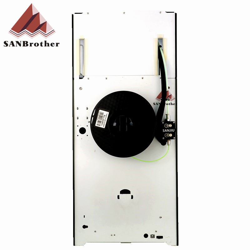 SANJIUPrinter Z360 3D Printer More Higher Than Ultimaker 2+Extended with Door and Top Cover 3D Printer DIY KIT