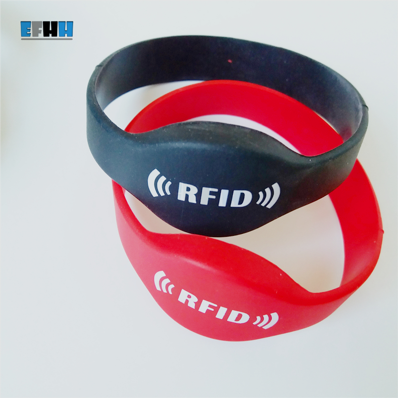 125khz RFID EM4305 Wristband Rewritable Card Writable Blank RFID Card Bracelet RFID Copy Clone