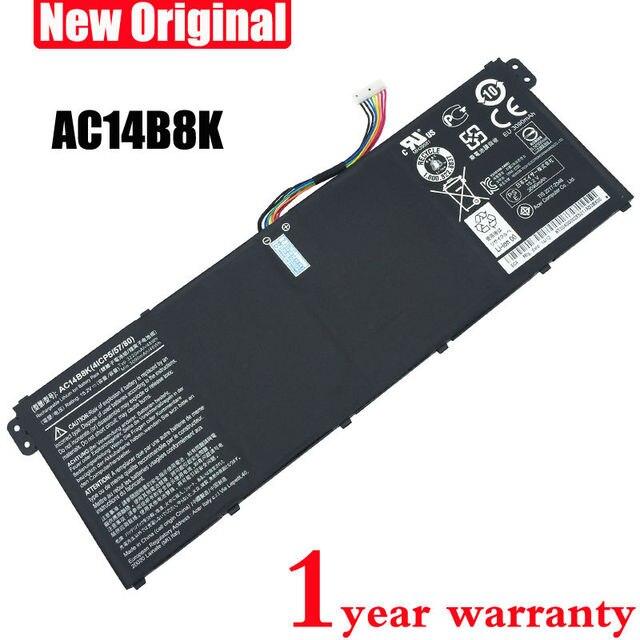 Оригинал AC14B8K Аккумулятор для Ноутбука ACER Aspire V3-111P ES1-511 ES1-512 CB3-111 CB5-311 B115P NE512 V3-371 V3-111