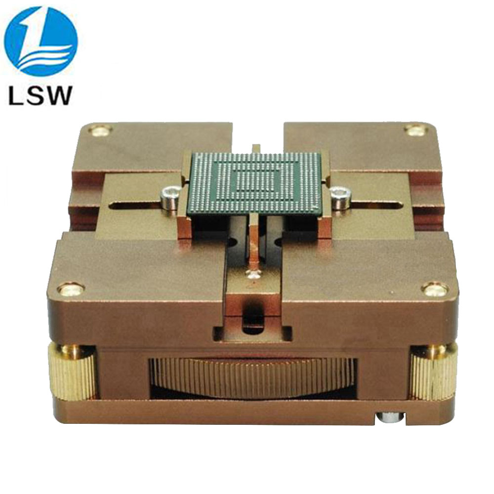 Fast Automatic Positioning Chip BGA Plant Tables Universal Steel Plant Tin Solder Ball Rework Station BGA Reballing Stencil